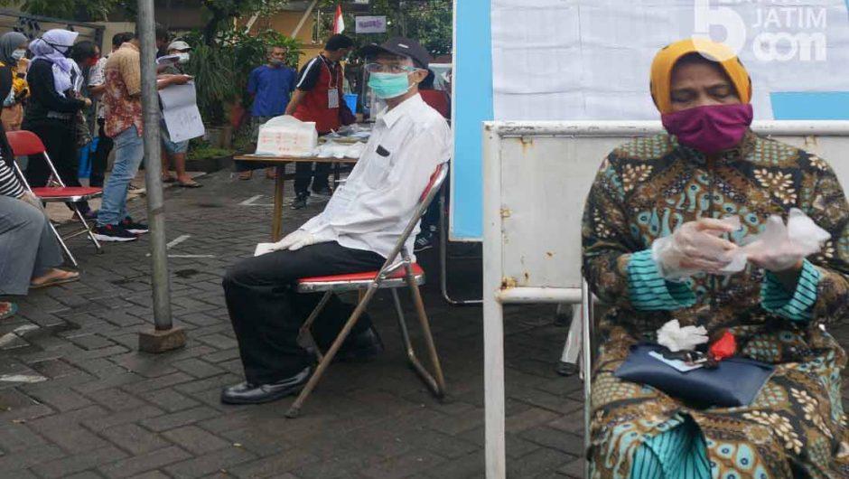 Pilwali Surabaya di Masa Pandemi, Warga jalani Protokol Anti Covid-19