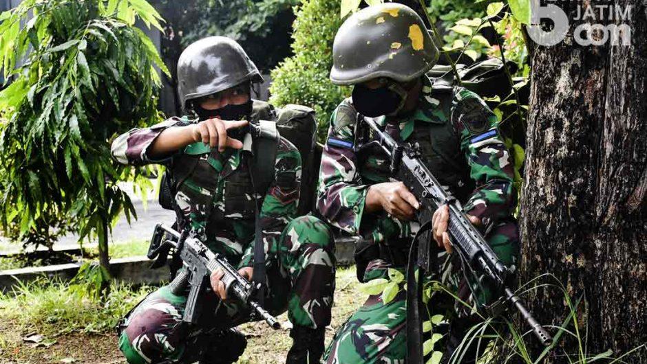 Perkuat Profesionalisme, Prajurit Yonif 5 Marinir Gelar Latihan Patroli Tempur