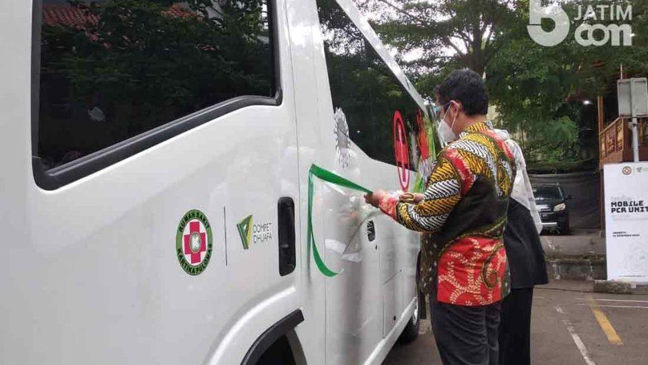 Dompet Dhuafa bersama RS Kartika Pulomas Hadirkan Mobile PCR Unit