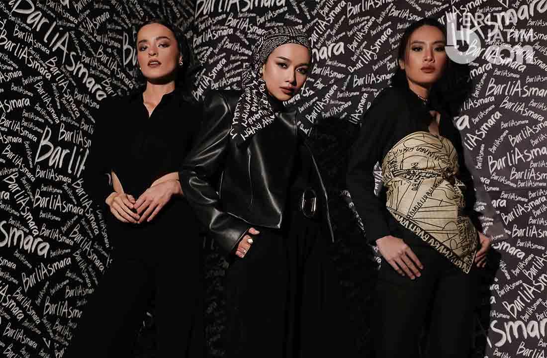 Rumah Mode Barli Asmara luncurkan Koleksi pret-a-porter Scribble Scarf