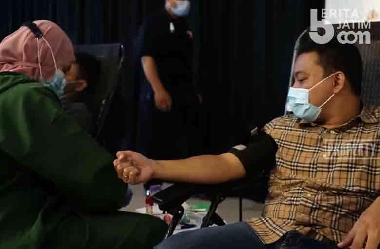 Libatkan 250 Penyintas Covid-19, Pelindo III Gelar Donor Plasma Darah